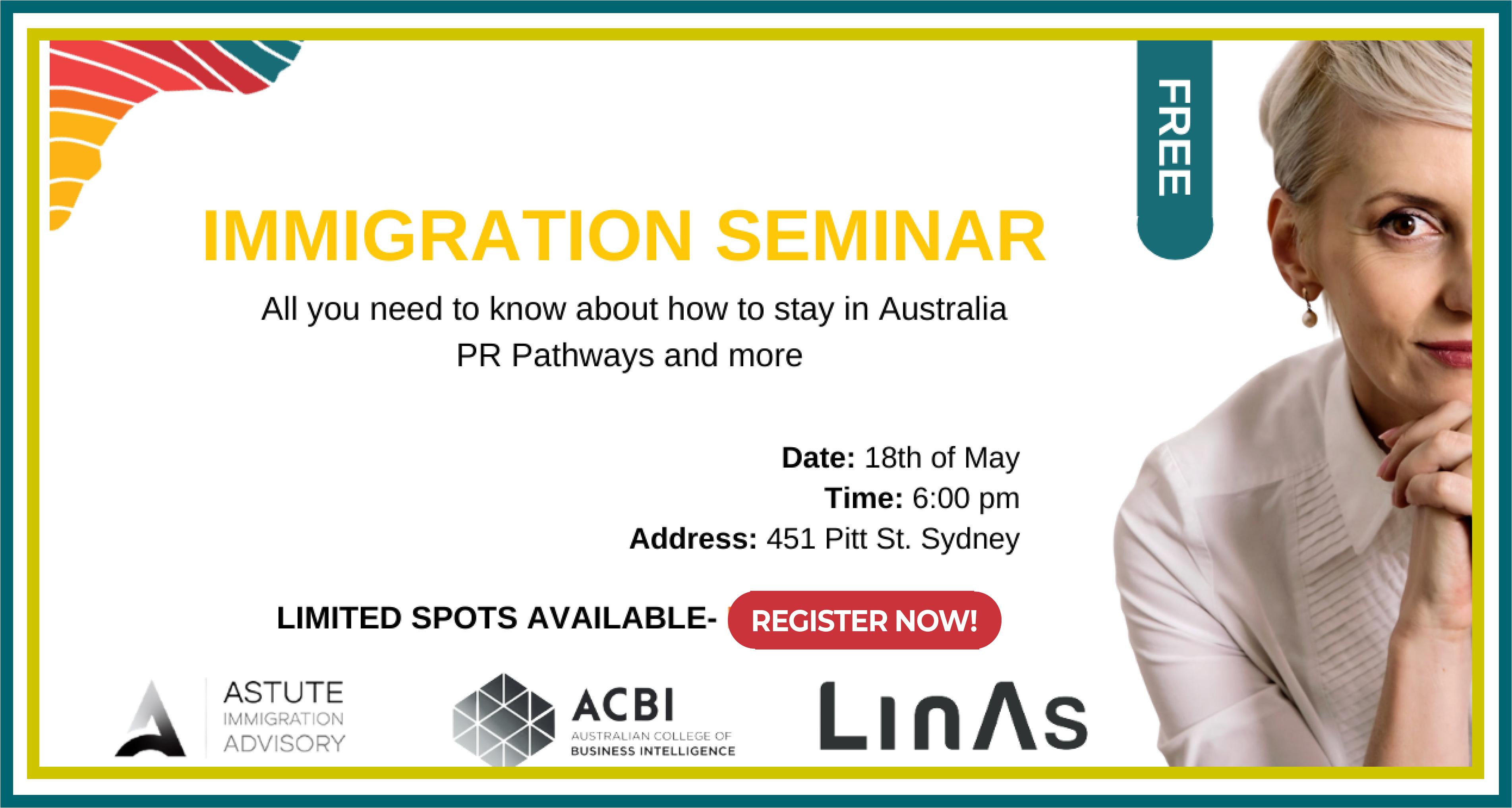 Free Immigration Seminar
