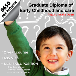 Graduate Diploma of Early Childhood