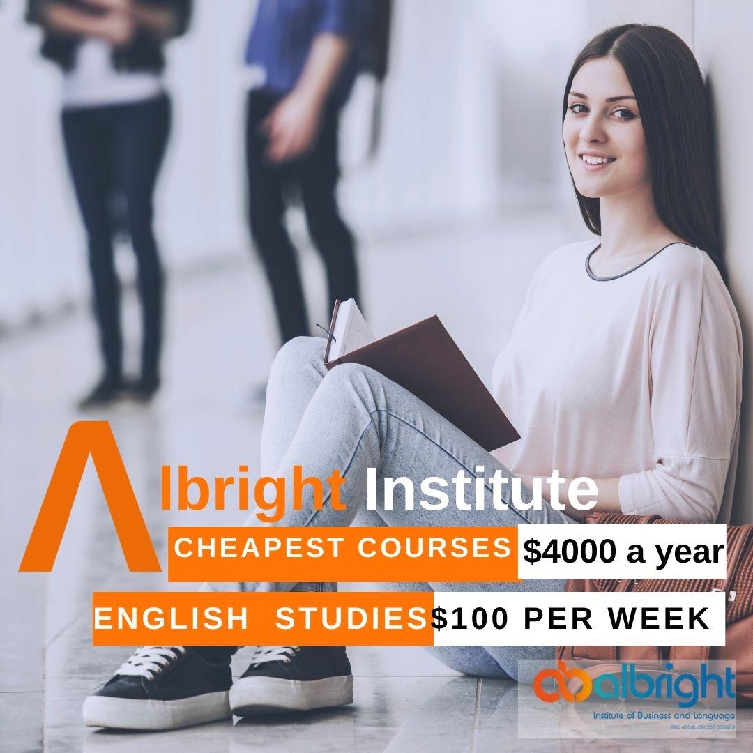 The cheapest courses in Australia