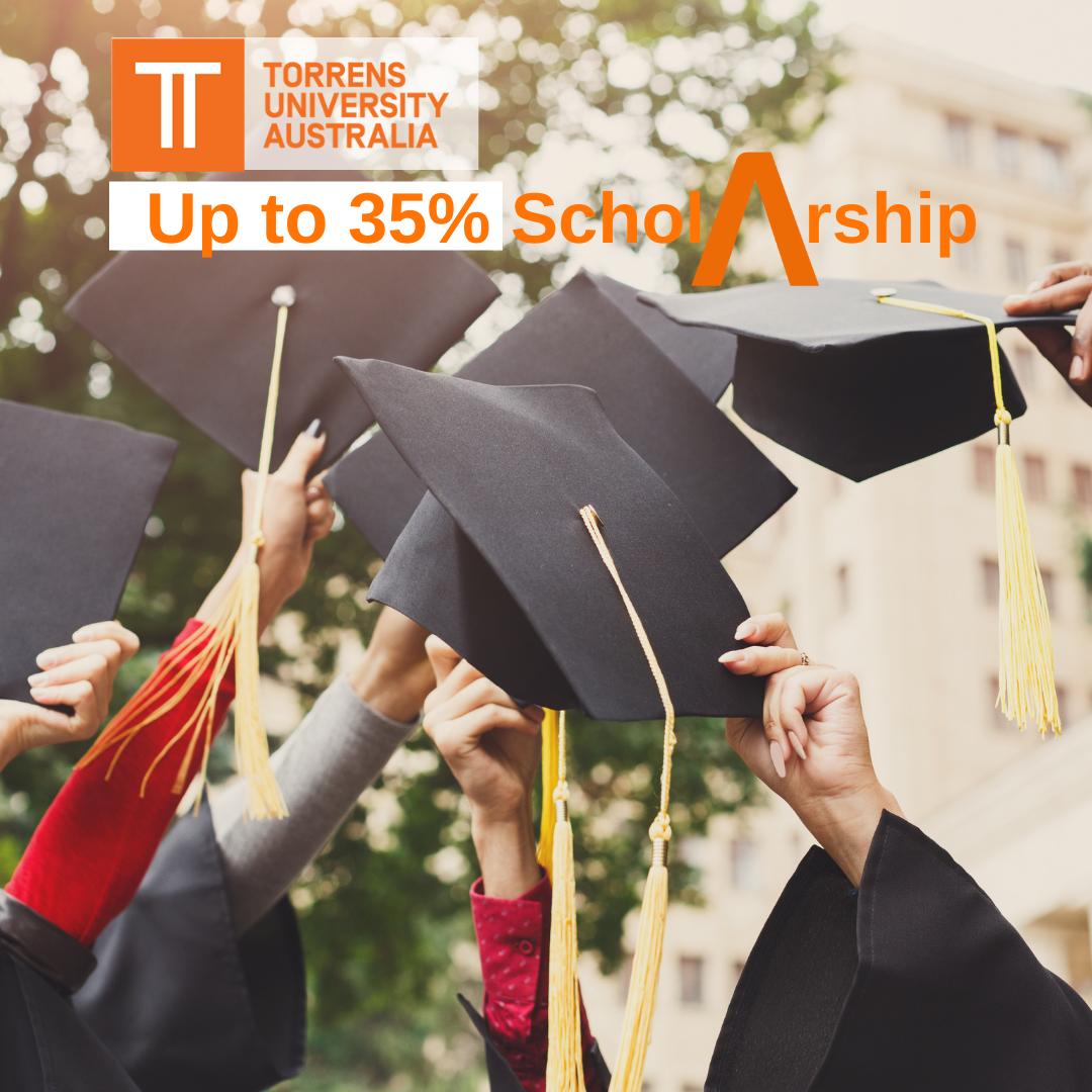 35% Scholarship at Torrens